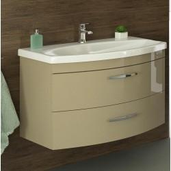 Vonios spintelė su praustuvu Viena D80