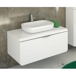 Vonios spintelė su praustuvu Mocca D75