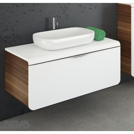 Vonios spintelė su praustuvu Mocca D90