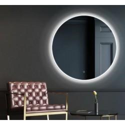 Vonios veidrodis apvalus Solei LD LED