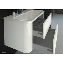 Vonios spintelė su praustuvu Gloria D70