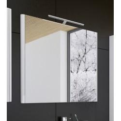 Vonios veidrodis Gloria L70 (galimas su LED šviestuvu)